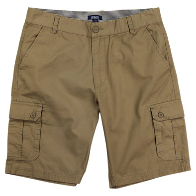 "Urban Boundaries brand cargo short - khaki - men's 10"" inseam"