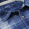 Men's Classic Plaid Pearl Snap Western Shirt