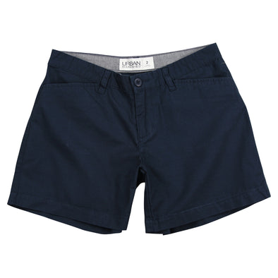 "Women's Classic Flat Front Shorts - 5"" Inseam"