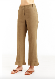 DREW Ruffle Bottom Pant