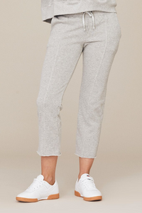 David Lerner Cropped Slim Sweatpants