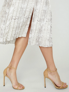 Brochu Walker Pleated Midi Skirt