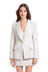 Amanda Uprichard Tweed Blazer