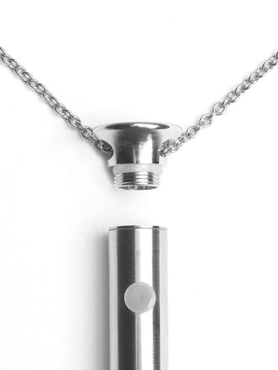 Vesper Silver Vibrator Necklace