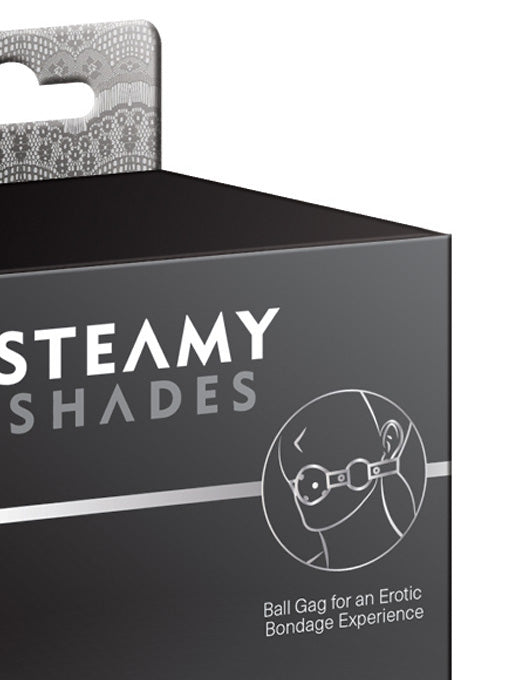 Steamy Shades Ball Gag