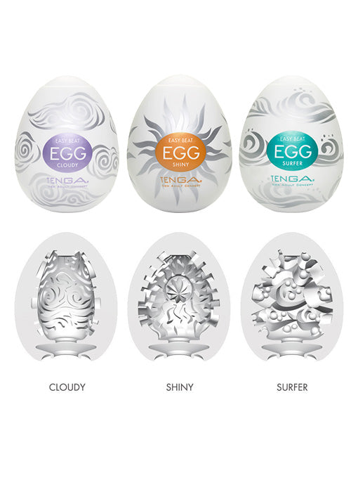 Tenga Egg Masturbator | Hard Boiled Pack