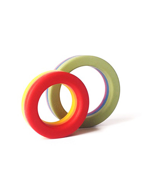 Rainbow Cock Ring Set