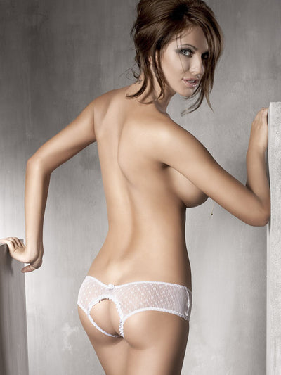 Kitten | White Open Panty