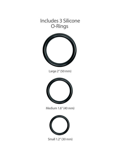 King Cock Harness Ring Sizes