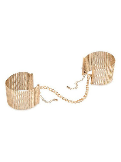 Metallic Mesh Handcuffs