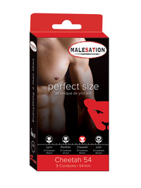 54mm Cheetah Condoms