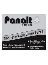 Panalt Capsules | Male Vitality Supplement 4 Pack