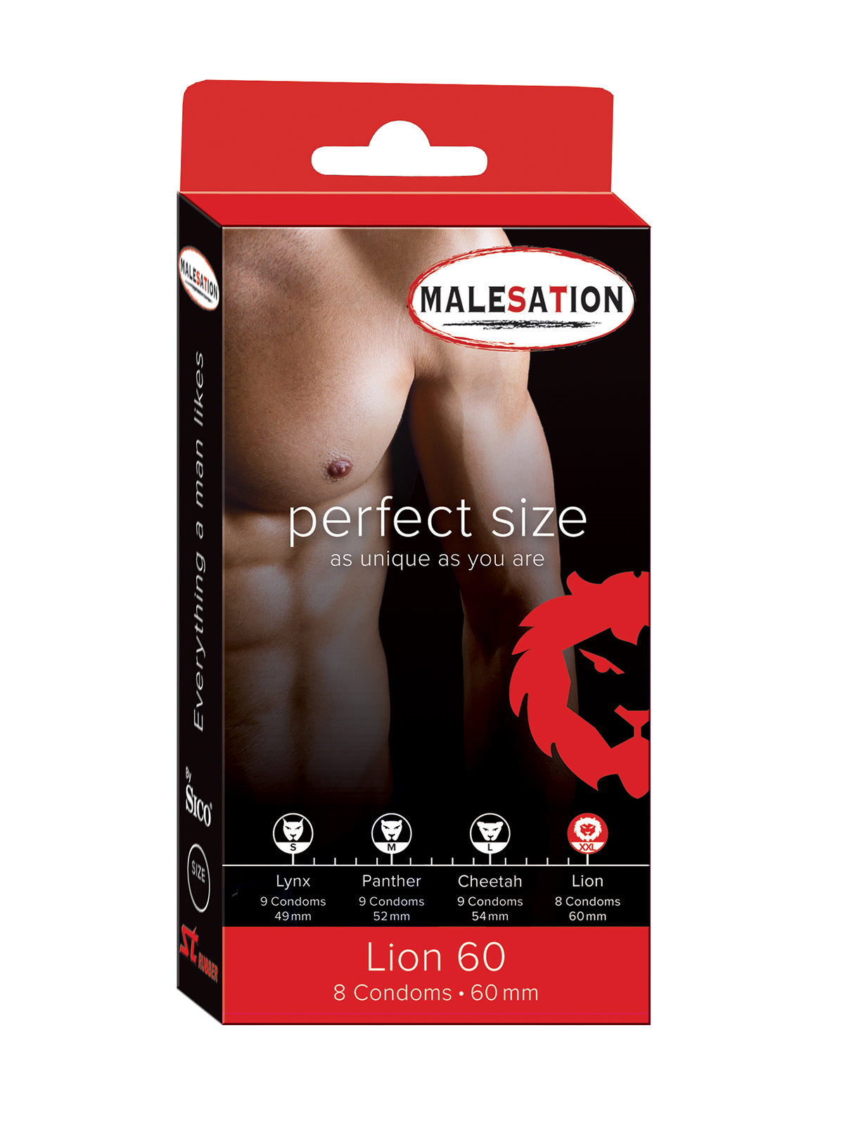 60mm Lion Condoms