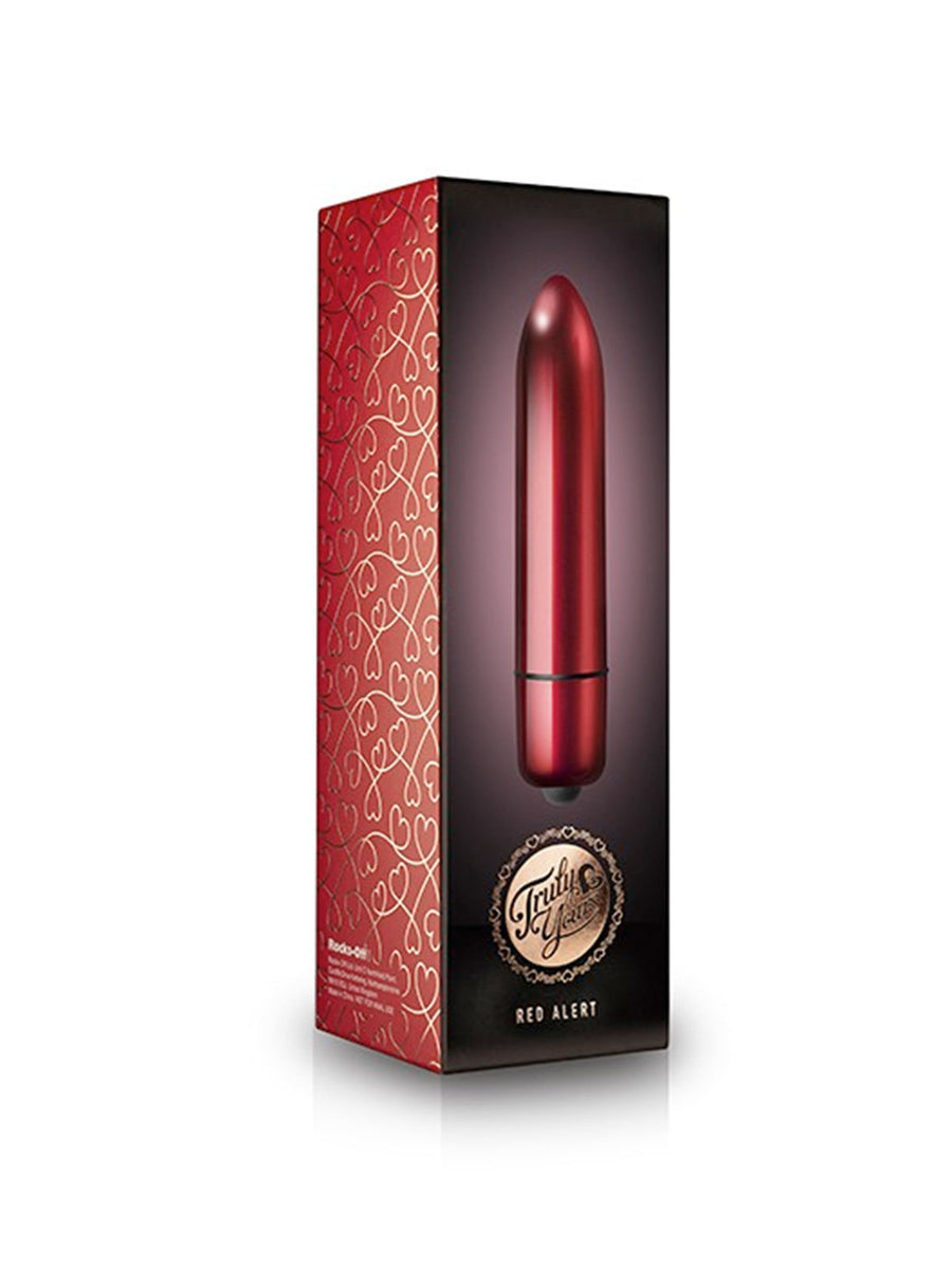 Red Alert | Truly Yours Vibrating Bullet
