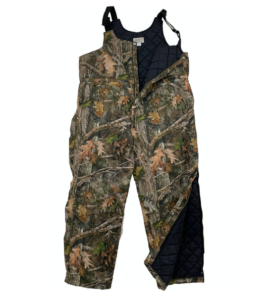 Big & Tall Kanati Camo Lined Bib Overalls