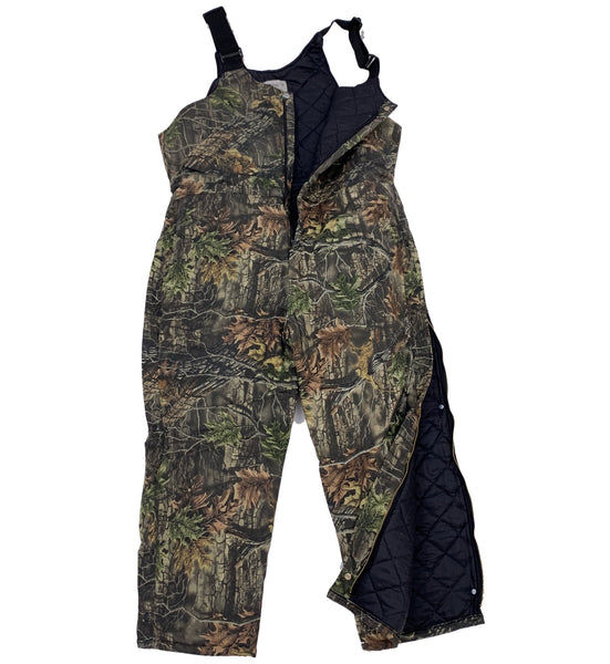 Big & Tall Camo Lined Bib Overalls