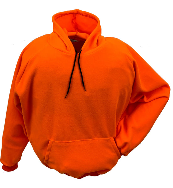 Big & Tall Blaze Orange Hooded Fleece