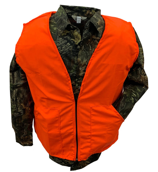 Big & Tall Blaze Orange Hunting Vest