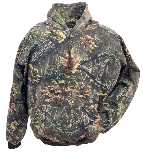 Big & Tall Camo Hooded Sweatshirt