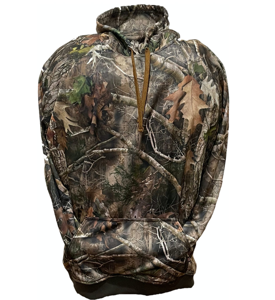 Big & Tall Kanati Camo Hooded Sweatshirt