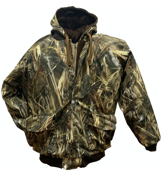 Big & Tall DRT Wet Land Camo Hunters Pro Jacket