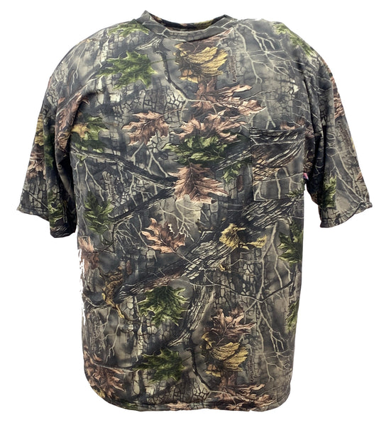 Big & Tall Camo Short Sleeve Hunting T-Shirt