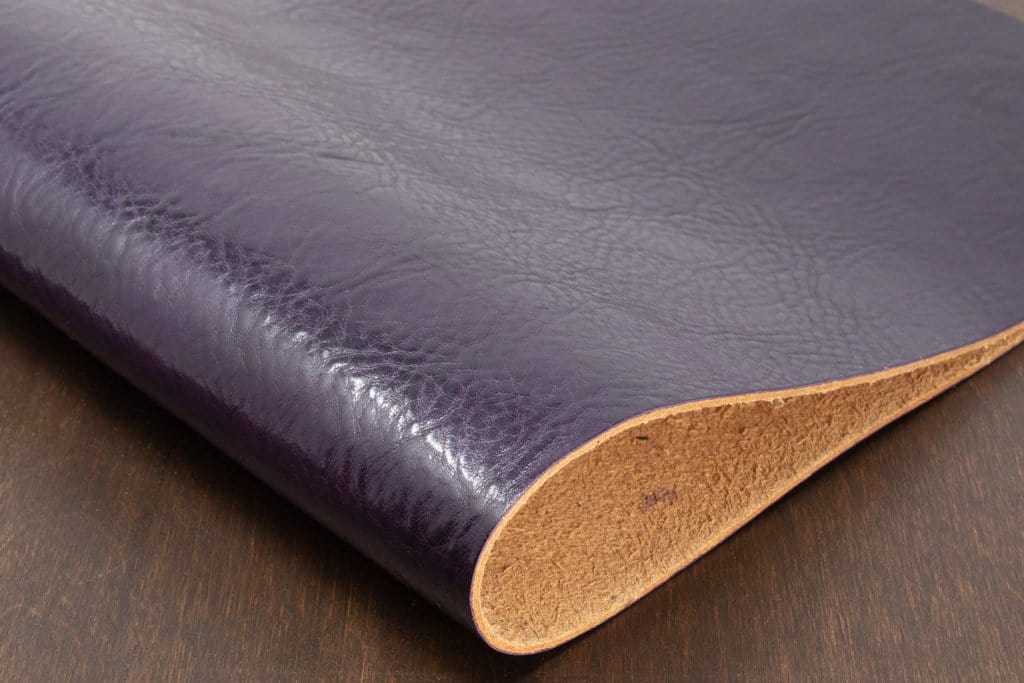 Purple Veg Tan Leather