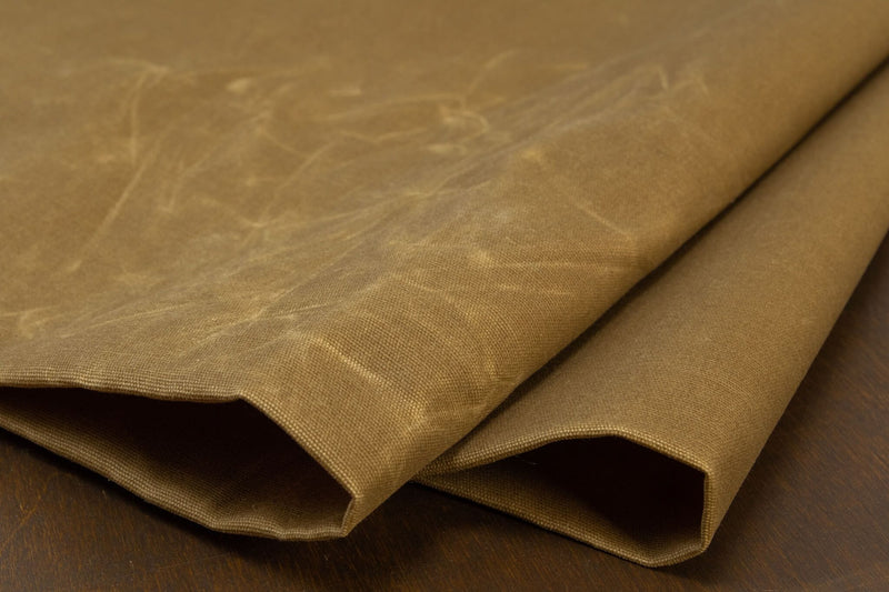 Waxed Canvas Cotton Duck, Coriander - 10 oz