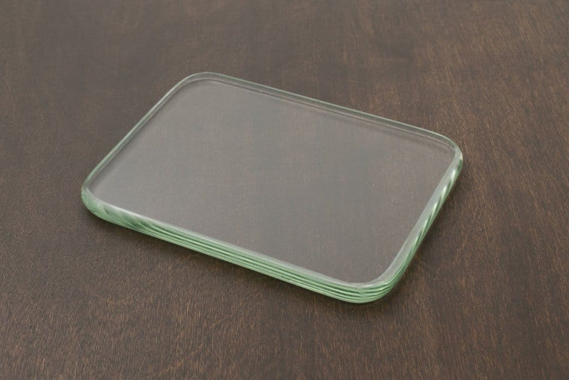 Glass Slicker Plate