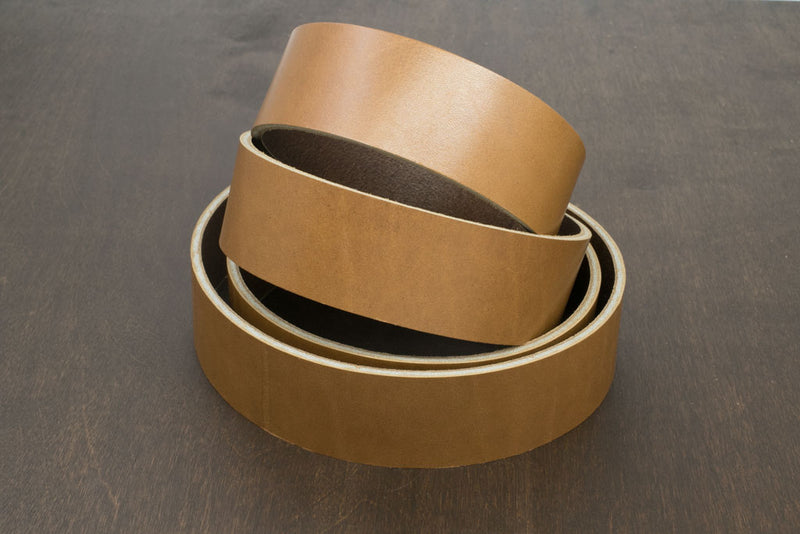 Strap - 38mm (1.5 in) Horween Latigo, Rio (8/9 oz)