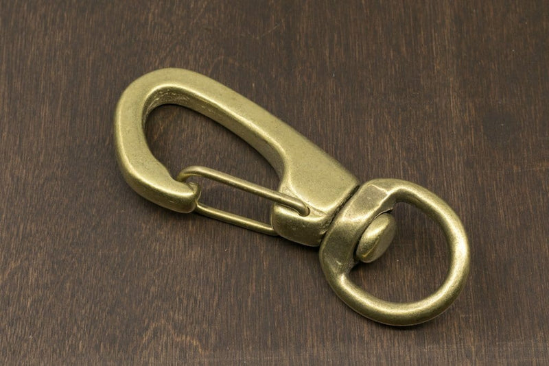 Japanese Brass Swivel Clip Snap