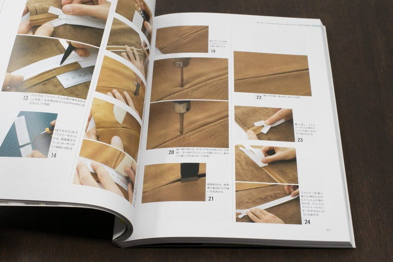 Leather Projects with Zippers (a Studio Tac Creative Book)