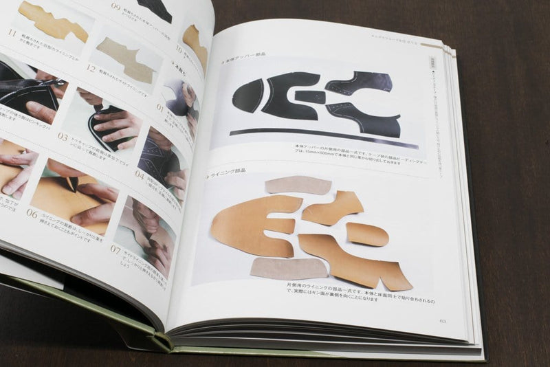 Lasted Shoe Construction - Oxford and Derby (a Studio Tac Creative Book)