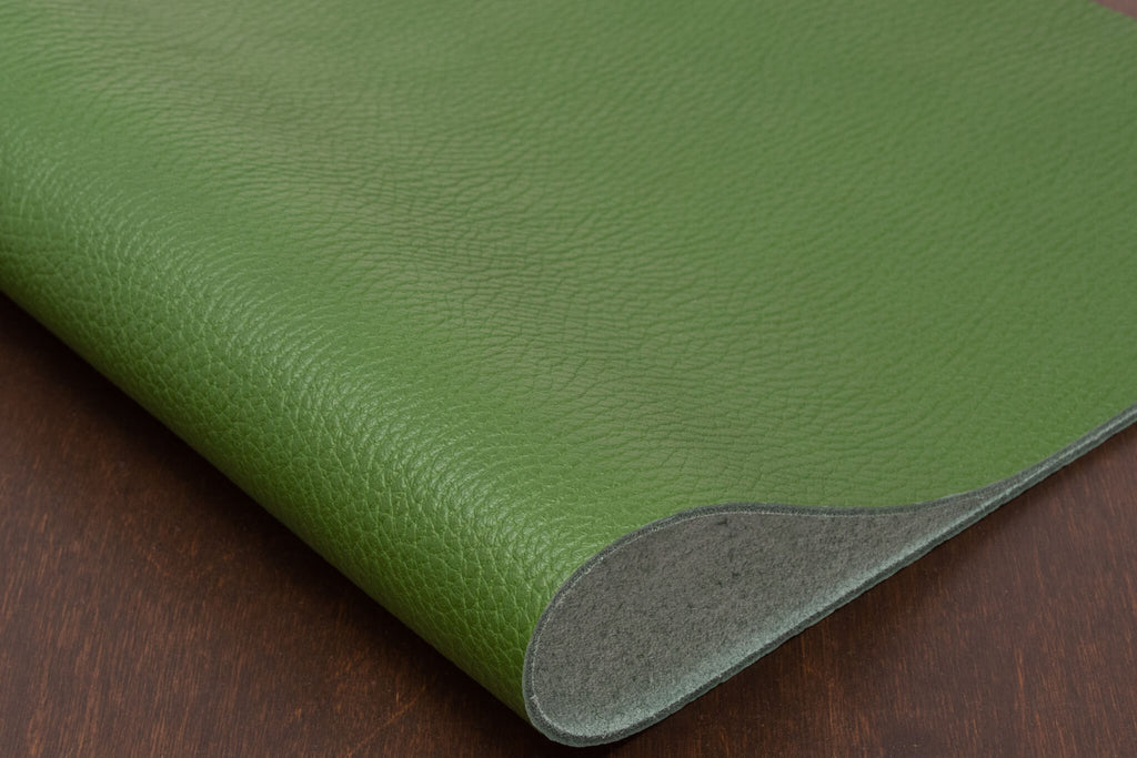 Italian Pebble Grain Calf, Green