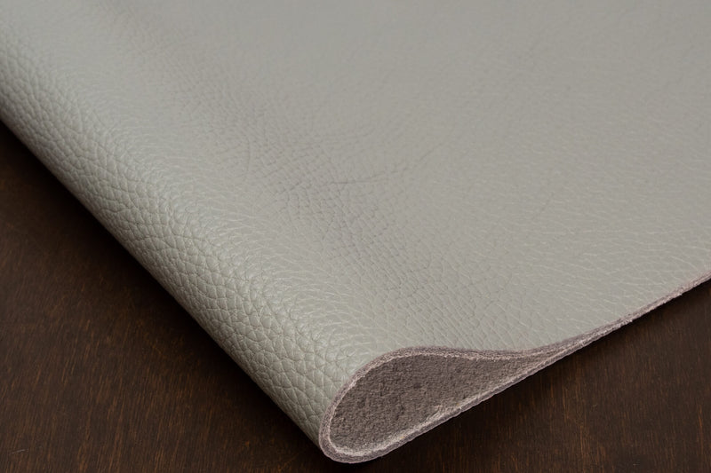 Italian Pebble Grain Cowhide, Grey