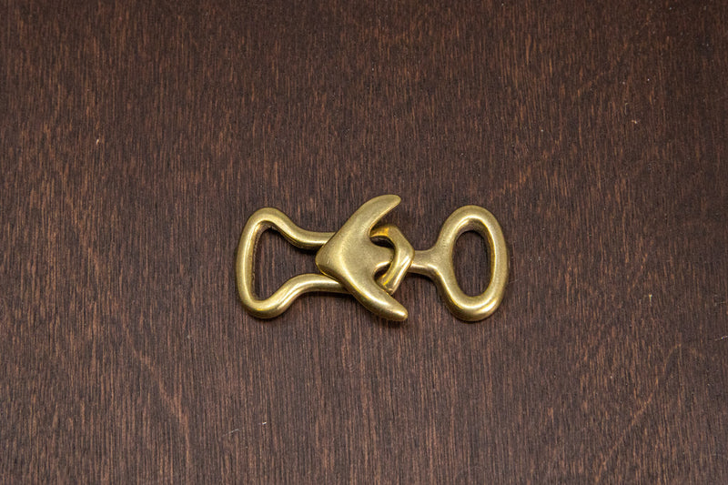 Japanese Brass Anchor Clasp