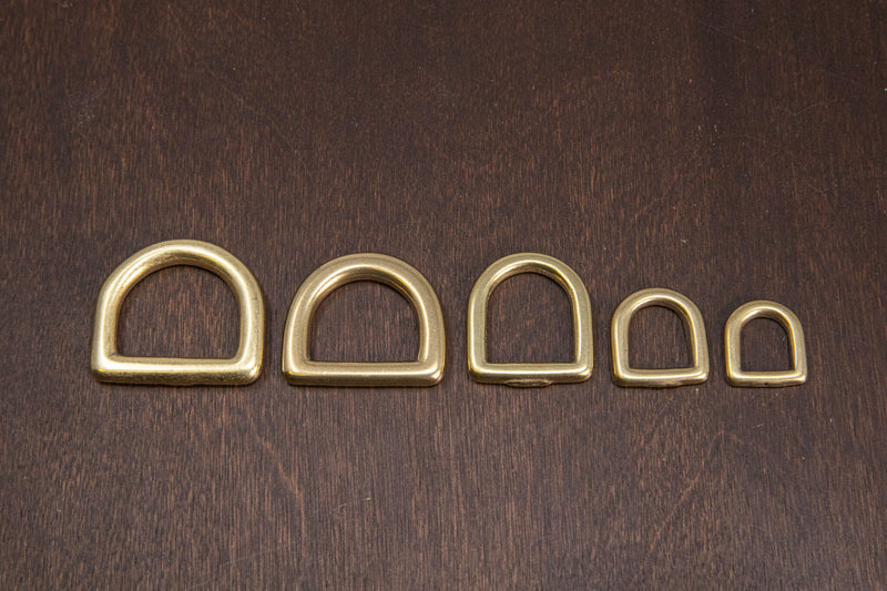 Japanese Brass D-Ring