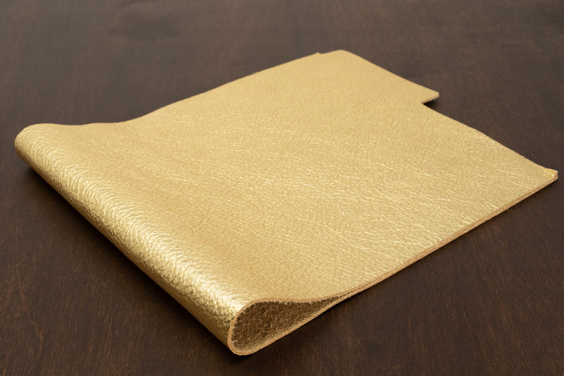Metallic Cowhide, Gold