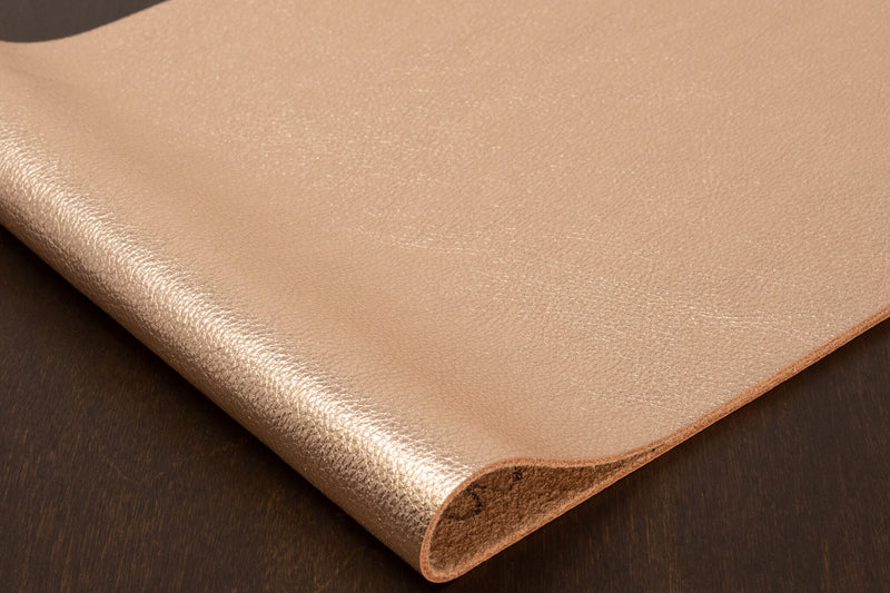 Metallic Cowhide, Rose Gold
