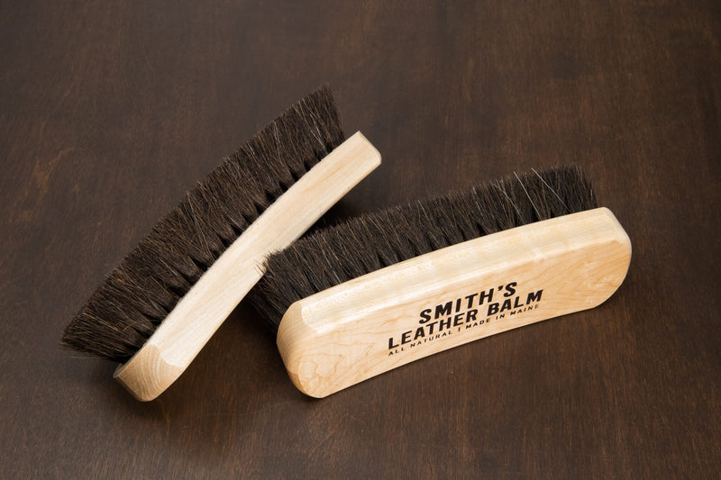 Smith's Leather Balm - Horsehair Brush