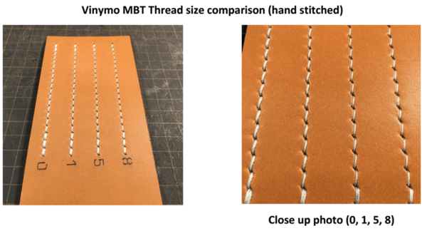 Vinymo MBT Thread - Size #0 - 50m