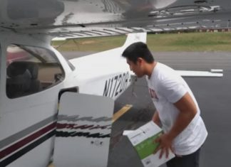 16-Year-Old Has Been Using His Flying Lessons to Deliver Medical Supplies to Rural Hospitals Fighting COVID