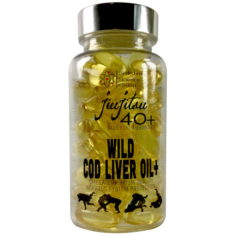 Cod Liver Oil Plus - JiuJitsu40+ Range - Berkshire Science Group