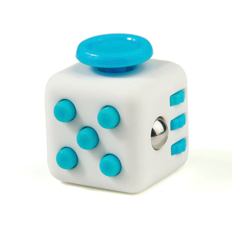 blue on white fidget