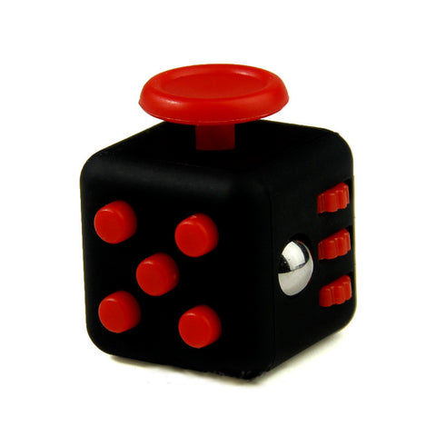 red on black fidget
