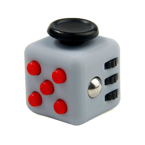 red on grey fidget