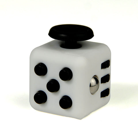 black on white fidget