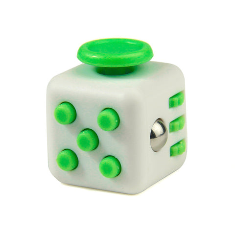 green on white fidget