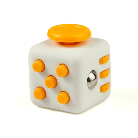 orange on white fidget