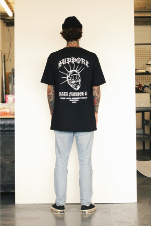 Mad Dog Tee - Black & White